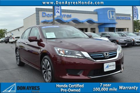 Certified Used Honda Accord Hybrid EX-L
