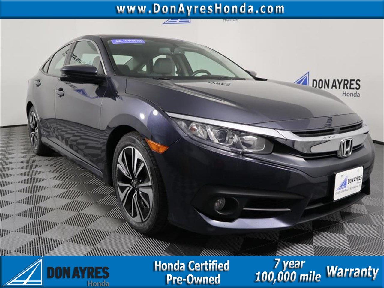 Certified Pre Owned 2016 Honda Civic Ex L 4d Sedan Near Fort Wayne P90353 Don Ayres