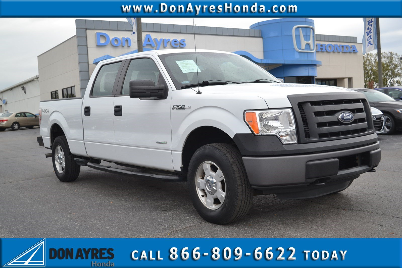Pre-Owned 2012 Ford F-150 XL