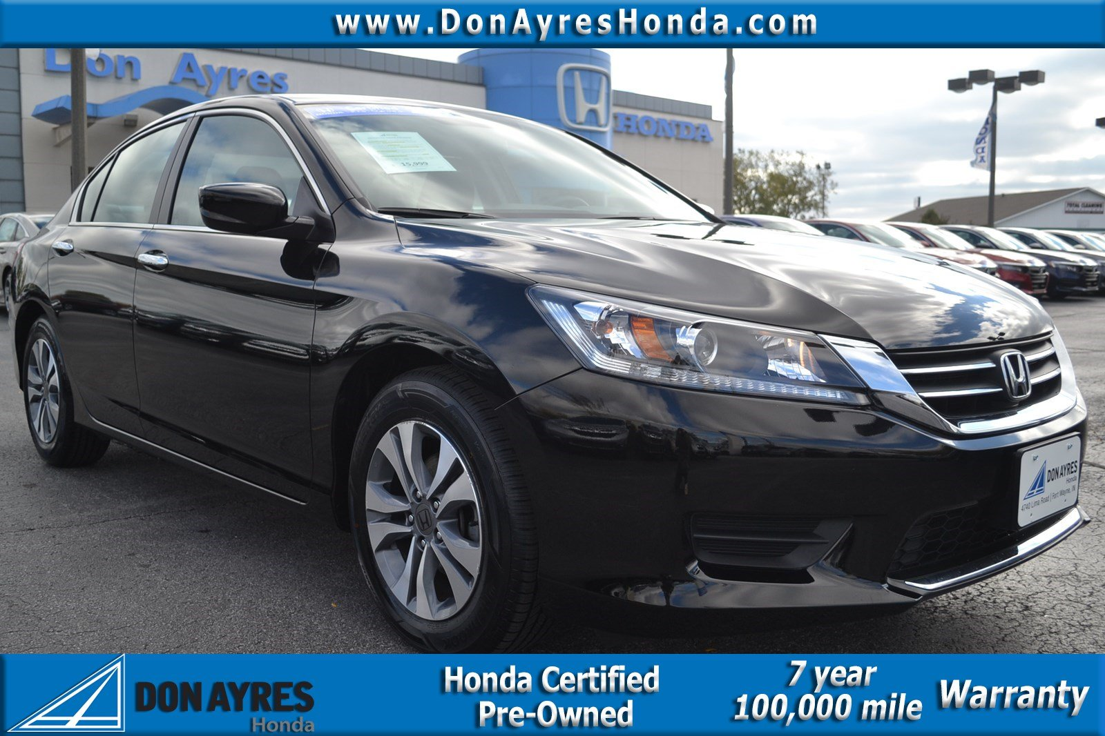 Marvelous Certified Pre Owned 2015 Honda Accord LX