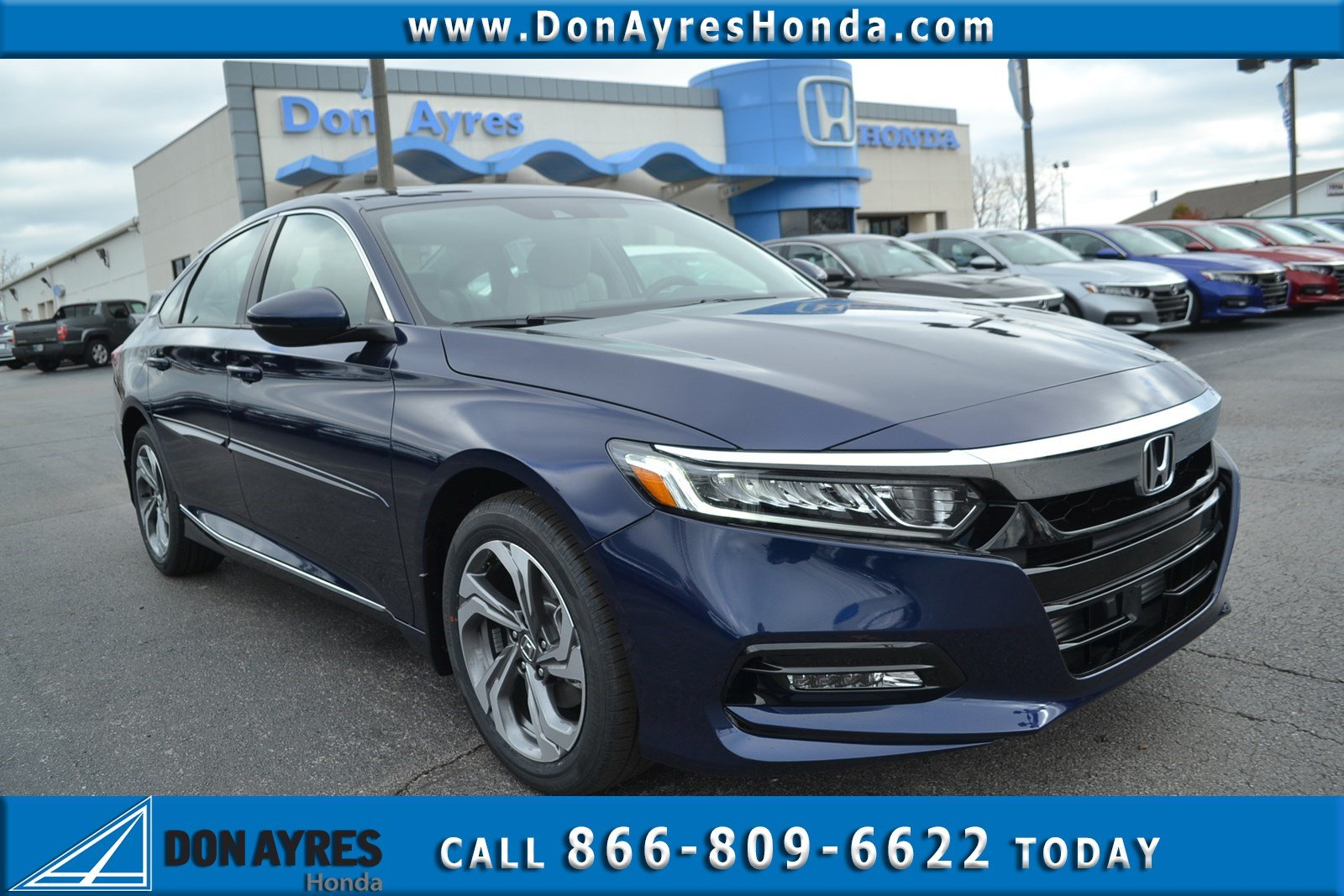 New 2019 Honda Accord Sedan Ex L 1 5t