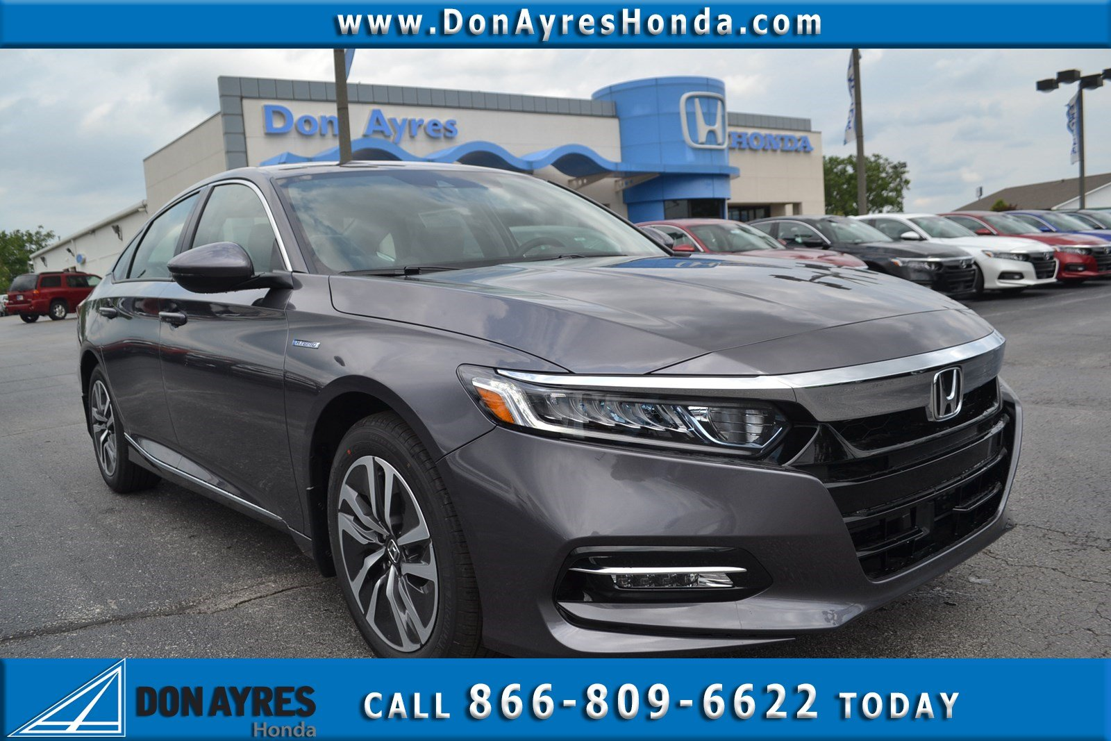 New 2018 Honda Accord Hybrid Ex L W Navi