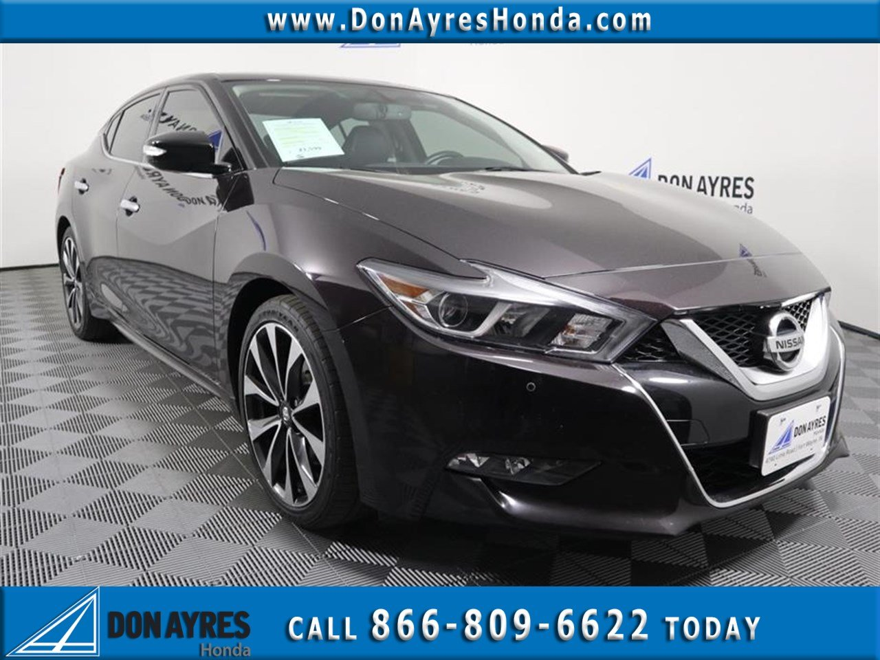 Pre Owned 2016 Nissan Maxima Sr 4d Sedan Near Fort Wayne P90393 Don Ayres Honda