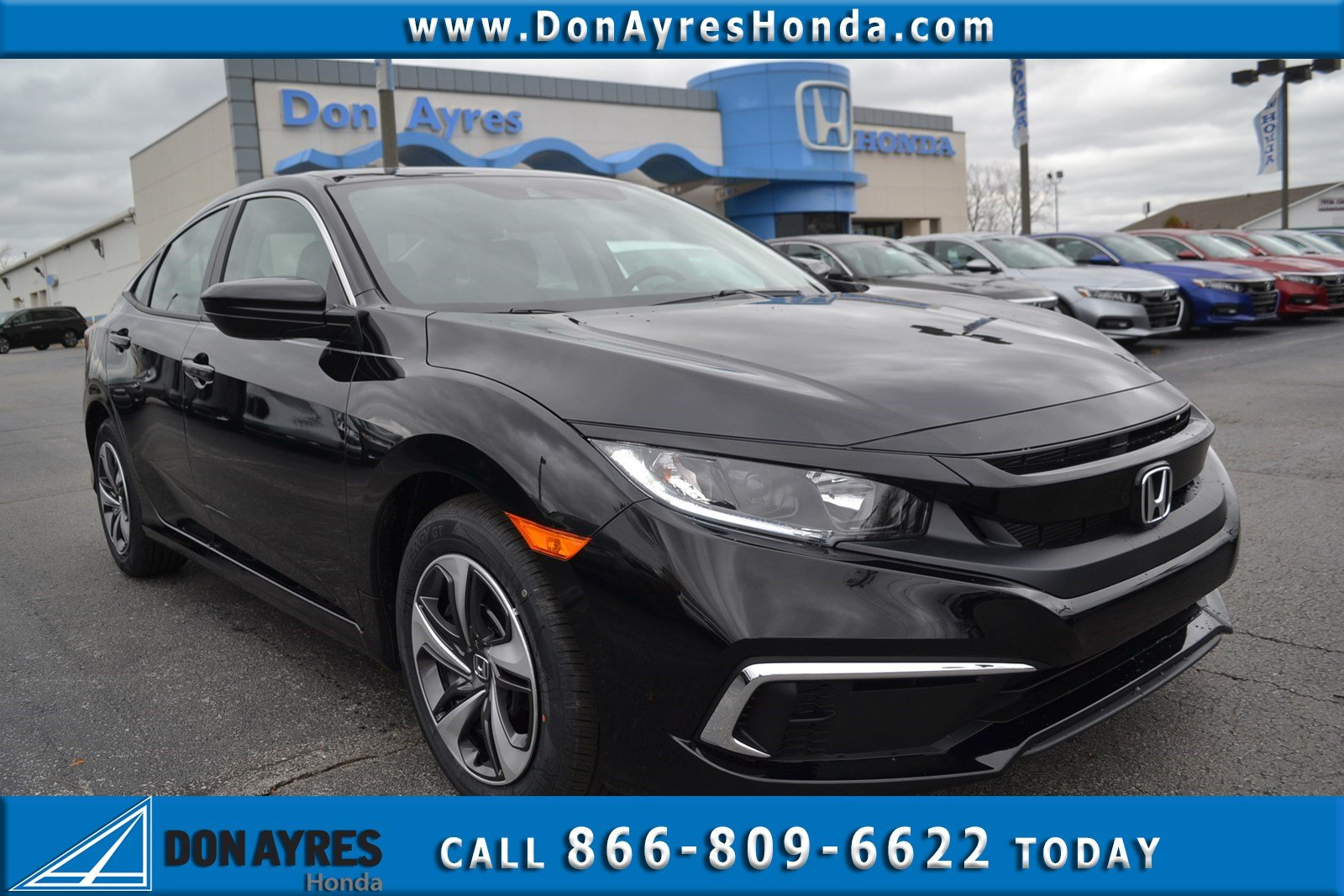 new 2019 honda civic sedan lx 4dr car near fort wayne 19315 don rh donayreshonda net