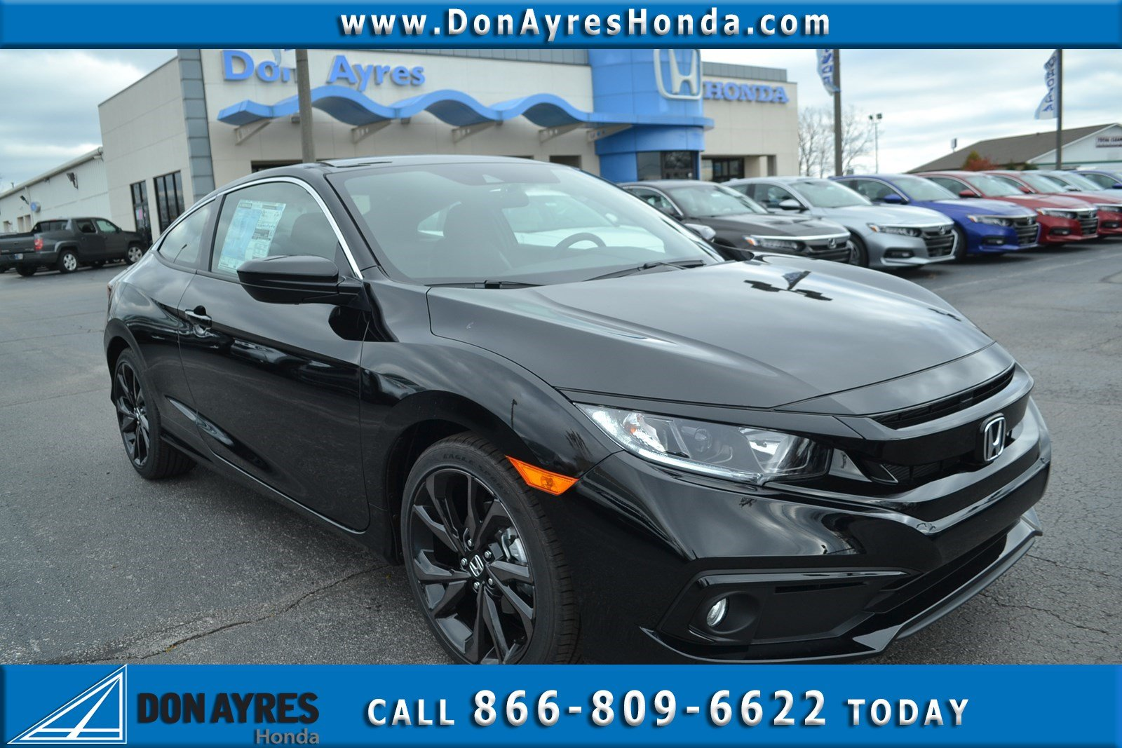 new 2019 honda civic coupe sport 2dr car near fort wayne 19340 rh donayreshonda net