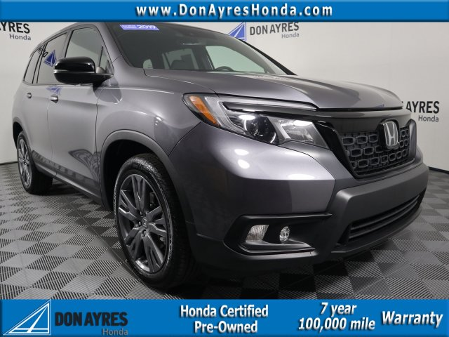 Honda Certified Pre Owned >> Certified Pre Owned 2019 Honda Passport Ex L