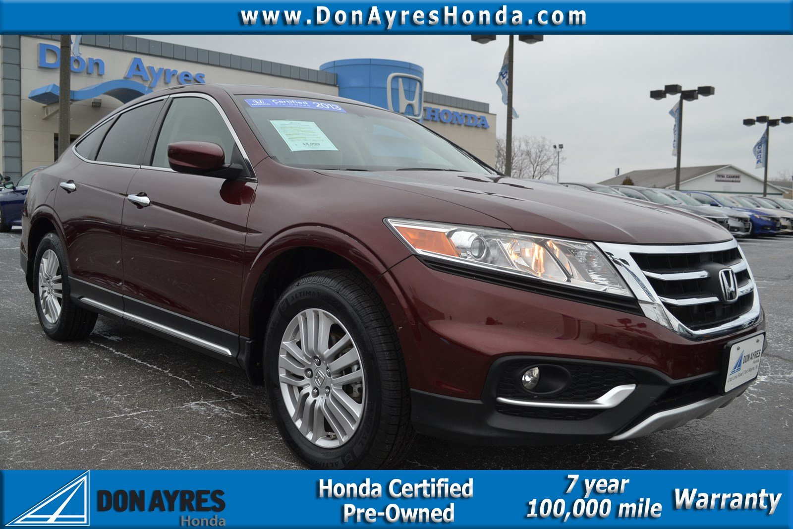 Certified Pre-Owned 2013 Honda Crosstour EX