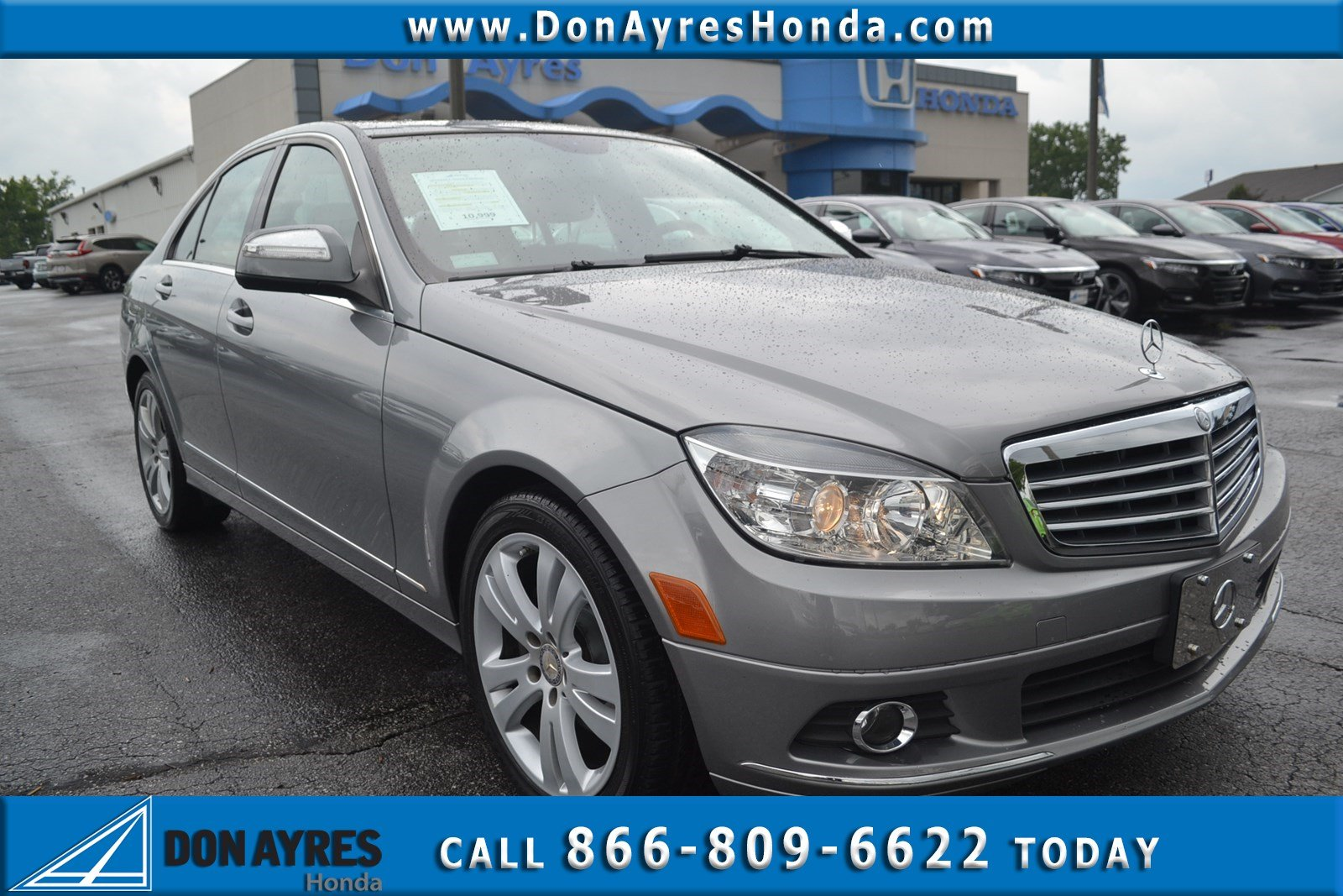 Pre Owned 2009 Mercedes Benz C Class C 300