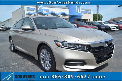 New 2018 Honda Accord Sedan LX 1.5T