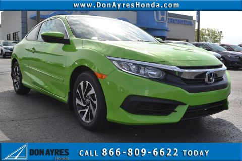 New 2018 Honda Civic Coupe LX