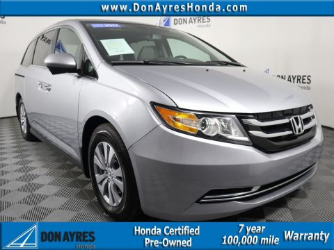 Certified Pre-Owned 2017 Honda Odyssey EX-L