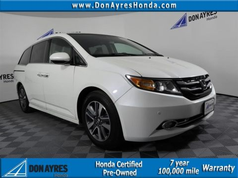 Certified Pre-Owned 2017 Honda Odyssey Touring Elite