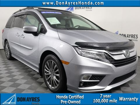 Certified Pre-Owned 2018 Honda Odyssey Elite