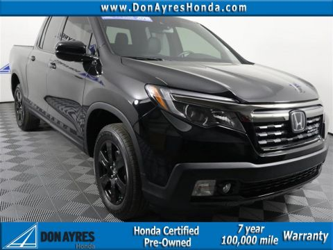 Certified Pre-Owned 2018 Honda Ridgeline Black Edition